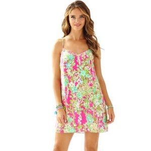 Lilly Pulitzer Silk Dusk Dress in Southern Charm